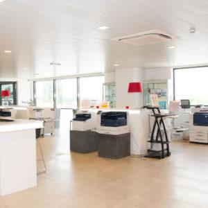 showroom, xsolveit, Sint-Niklaas, kantoorprinter, multifunctionele printers