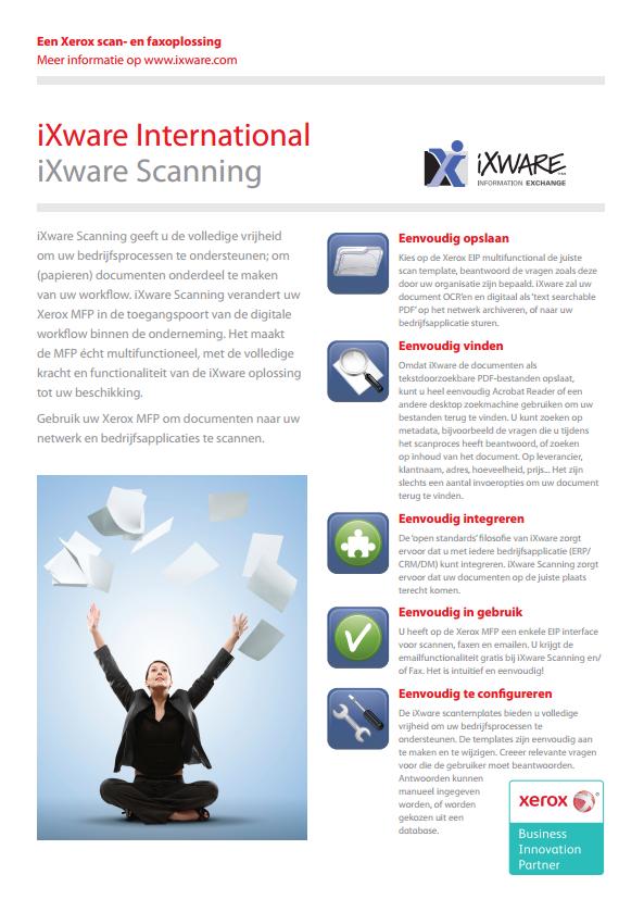 iXware Scanning