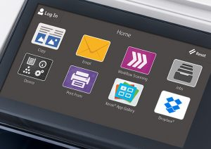 xerox, altalink, bedrijfstechnologie, versalink, connectkey, touchscreen, interface