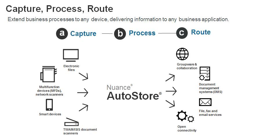 AutoStore Nuance Process